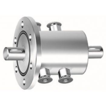 SR40实心轴法兰式四水咀磁液体密封装置(联系客服询价)