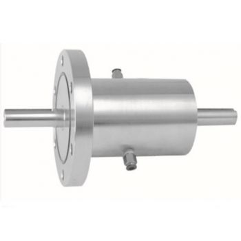 SR10实心轴法兰式双水咀磁流体密封装置(联系客服询价)