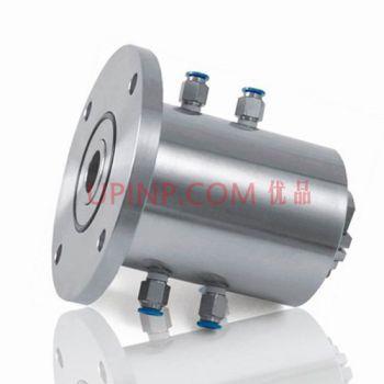 SR020实心轴法兰式四水咀磁液体密封装置(联系客服询价)