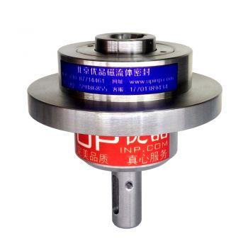 SR25实心轴转空心轴法兰盘磁性流体密封装置(联系客服询价)