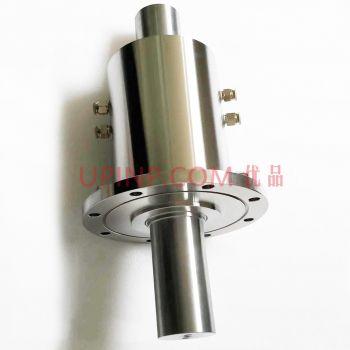 SR10实心轴法兰式四水咀磁液体密封装置(联系客服询价)
