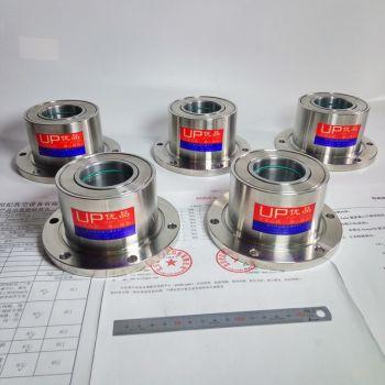 三同心轴磁性流体密封装置