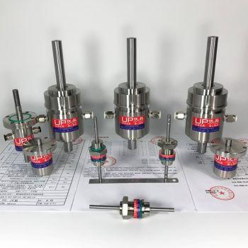 SR25实心轴转空心轴法兰盘磁性流体密封装置